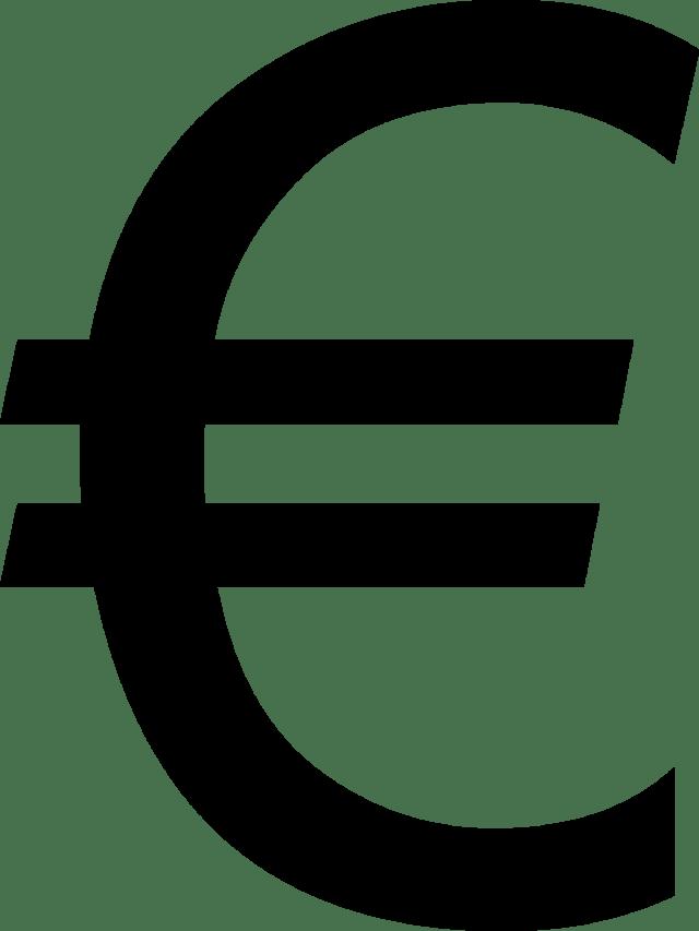 Símbolos monetarios euro
