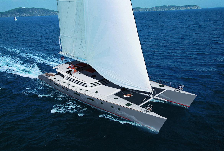 100 Feet Sailing Catamaran For