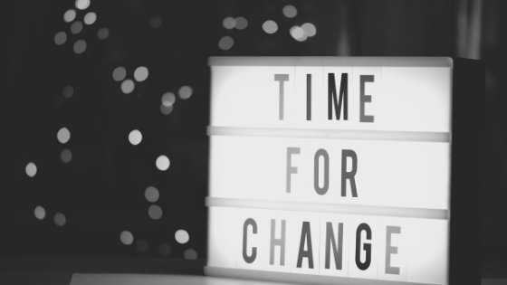 EVERYTHING CHANGES BUT CHANGE ITSELF