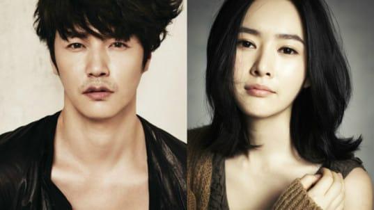 Актер Юн Сан Хён и его жена певица Maybee ждут второго ...