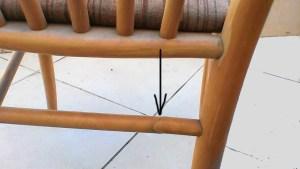 שיפוץ, חידוש ועיצוב של כסא: התומכה השבורה