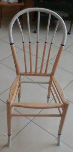 שיפוץ, חידוש ועיצוב של כסא: הכסא מוכן לצביעה