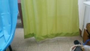 מעונות סטודנטים - קיצור הוילון באמצעות שדכן....