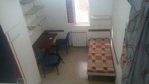 מעונות סטודנטים שנה א' החדר ביום שהגענו - מבט כללי
