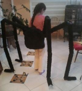 יש מיש עכביש 2 הטוסיק עם הרגליים