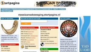 Startpagina screenshot