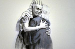 De onherkenbare Josef (type van Messias) wordt herenigd met Israël (Jacob)