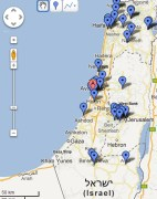 Messiaanse Gem Israel Google Maps