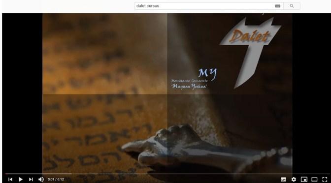 Daletcursus – Introductiecursus Messiaanse Beweging