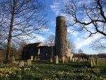 Great Hautbois round tower church Norfolk