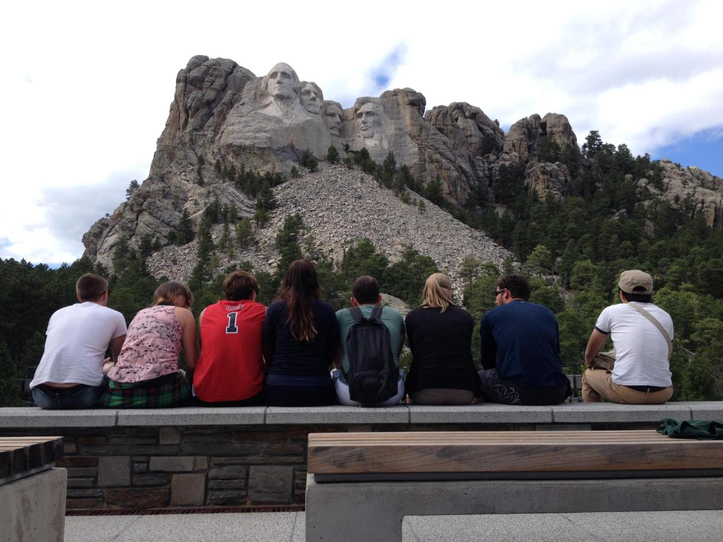 Trek America Mount Rushmore