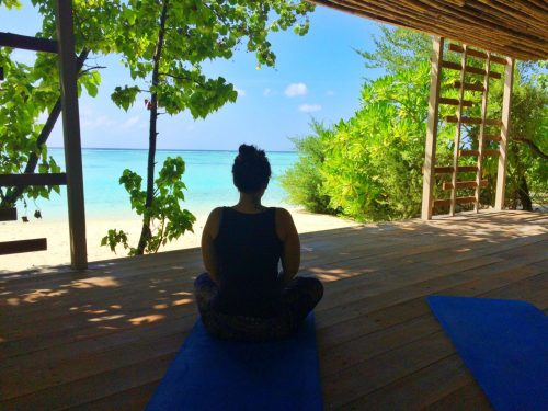 Yoga retreat maldives