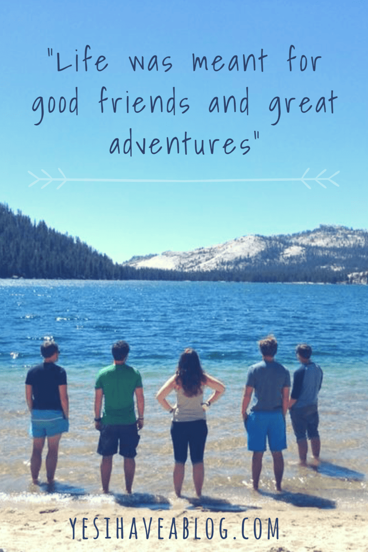 Life Was Meant For Good Friends | yesihaveablog