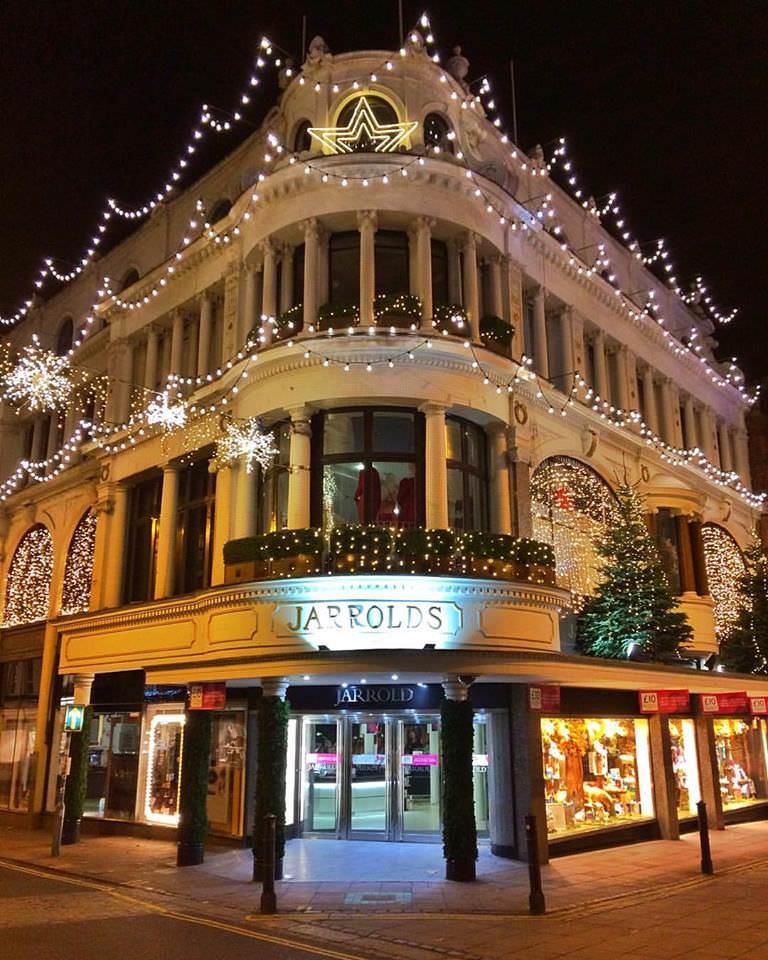 Yesihaveablog   Christmas in Europe   Jarrolds Department Store   Christmas in England   Winterlust