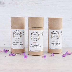plastic free deodorant natural vegan