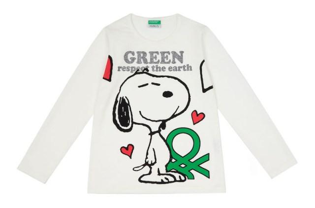 Benetton sürdürülebilir organik