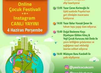 Dünya Çevre Günü Online Çocuk Festivali