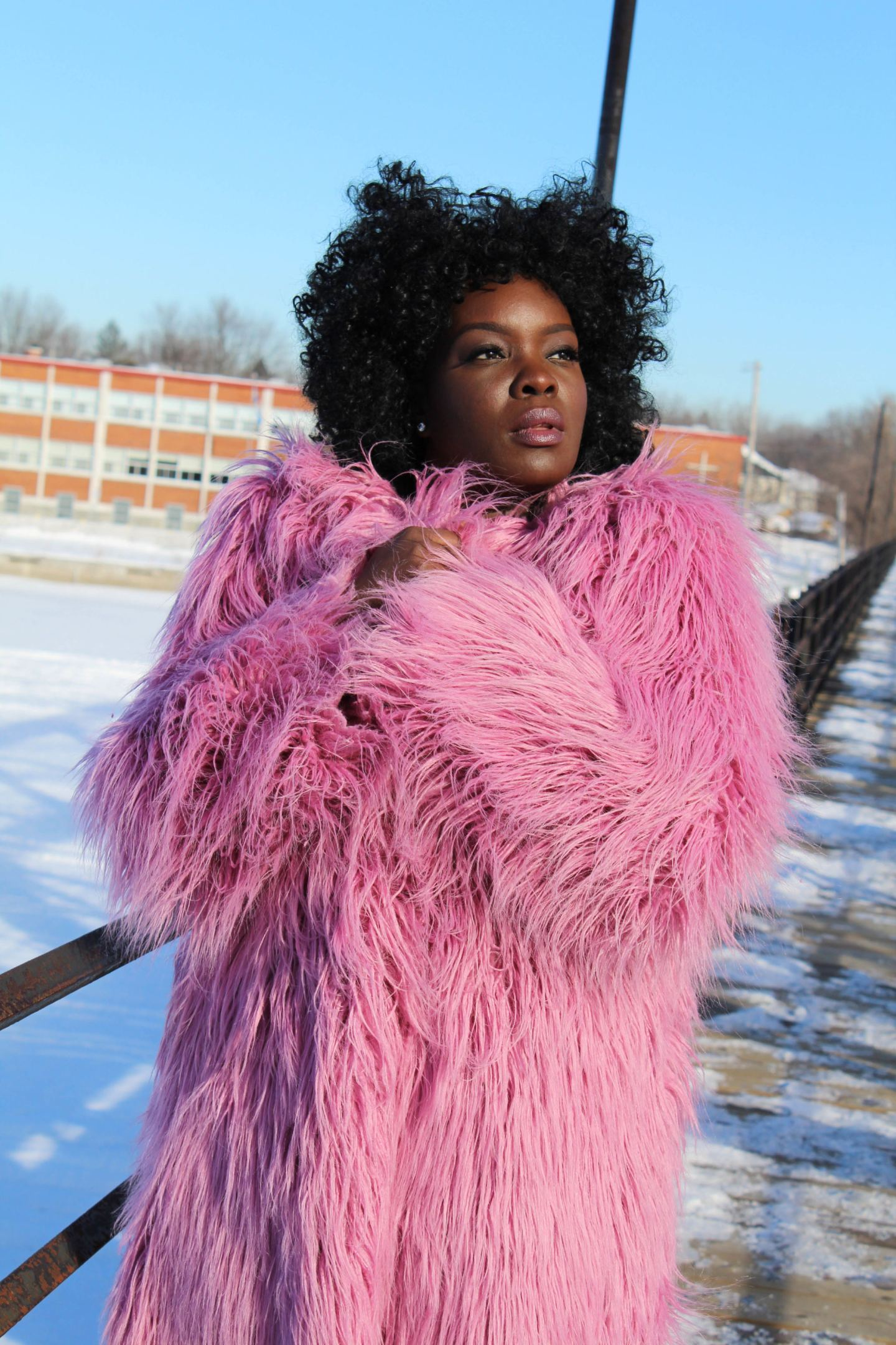 It's a DIY: Faux Fur Coat