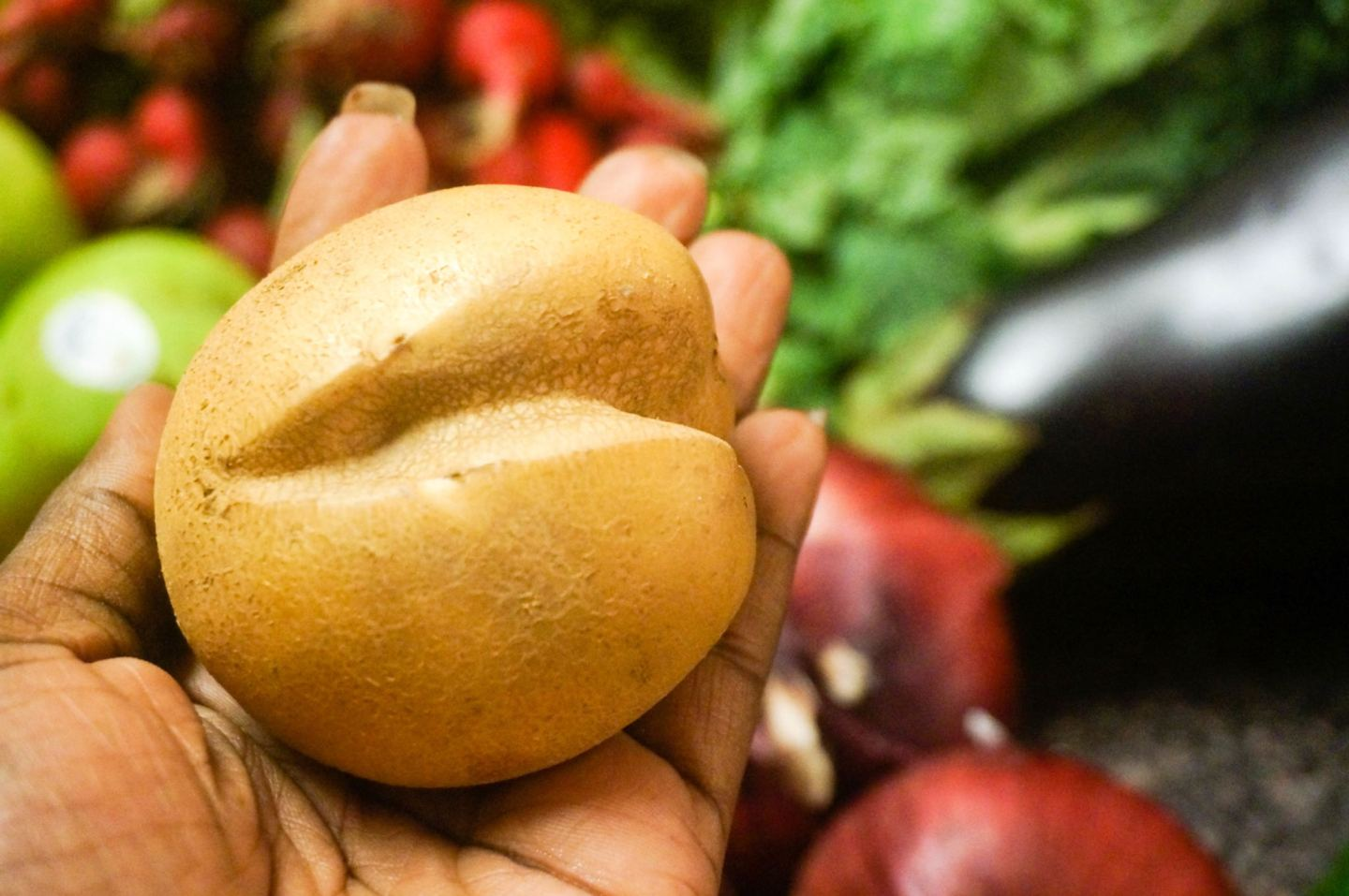 Abnormal potatoes from Misfit Market