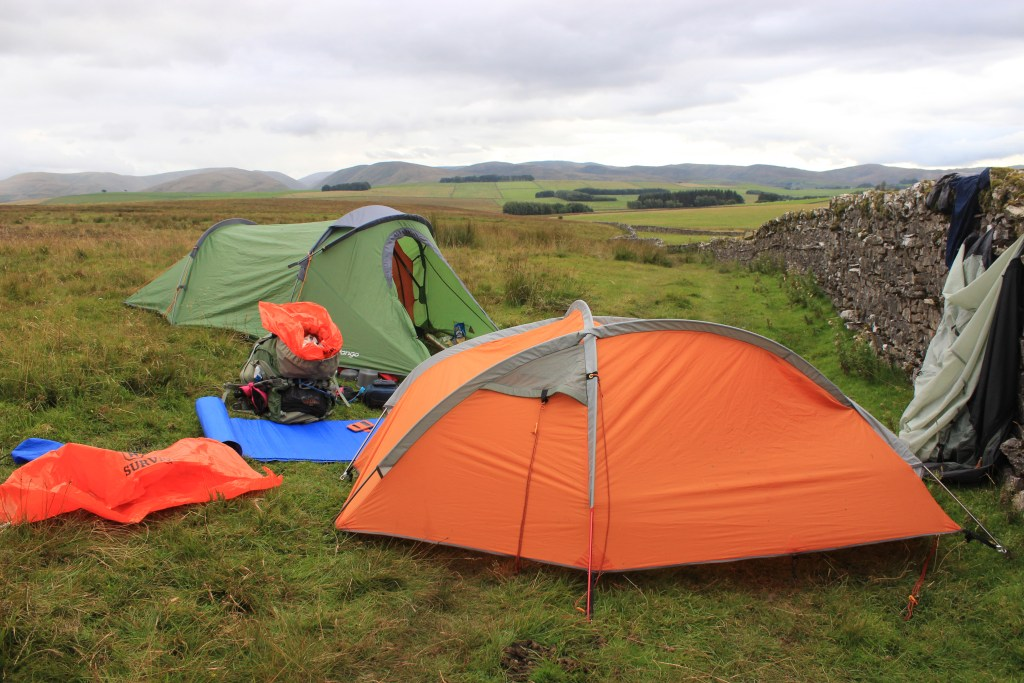 Coast to Coast camping on the Yorkshire Moors