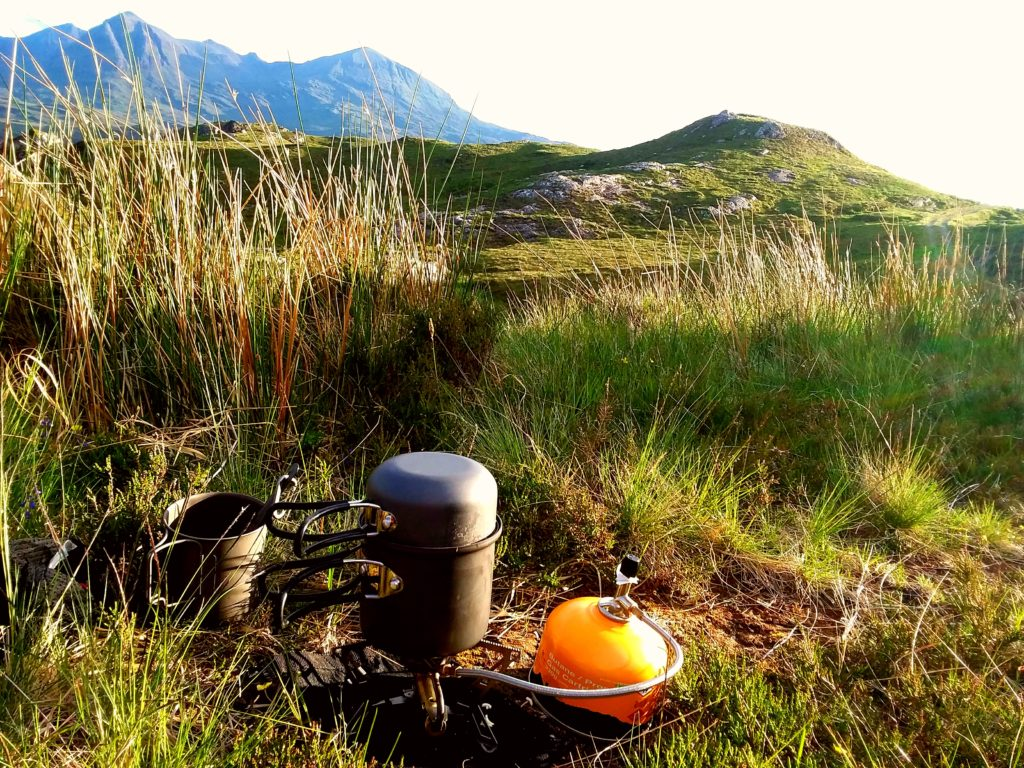 Cape Wrath Trail tips - food
