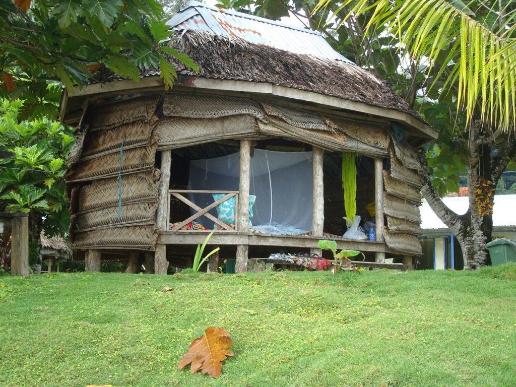 A fale in Samoa
