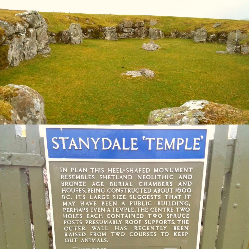 Shetland's Neolithic past - Stanydale Temple