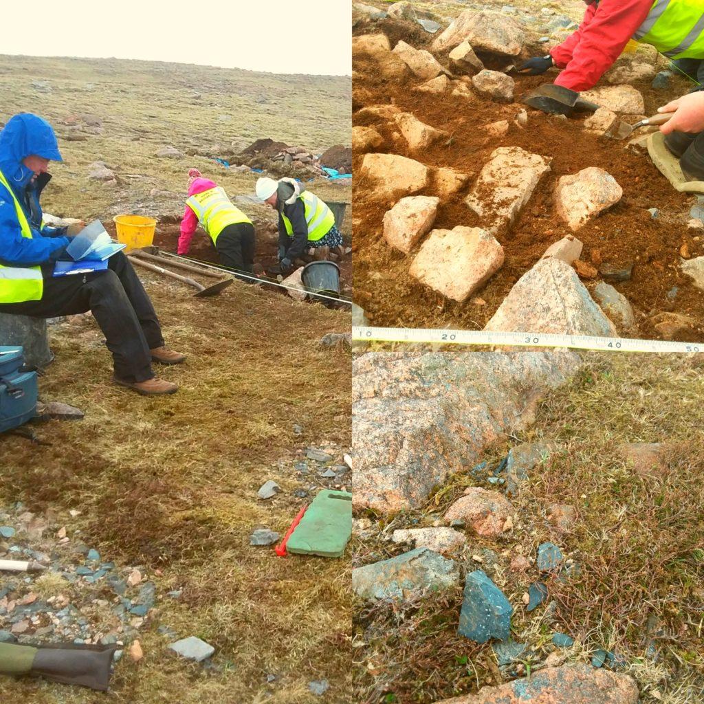 Shetland's Neolithic past - felsite Dig