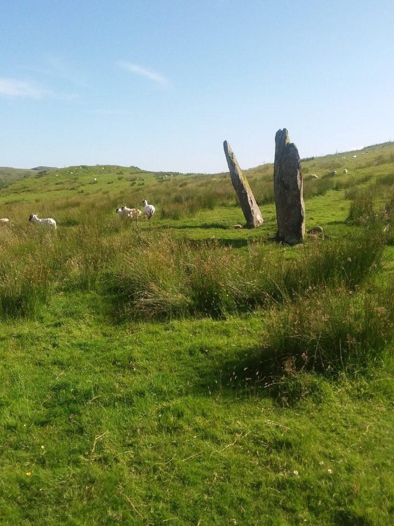 Standing stones Kilmartin Glen