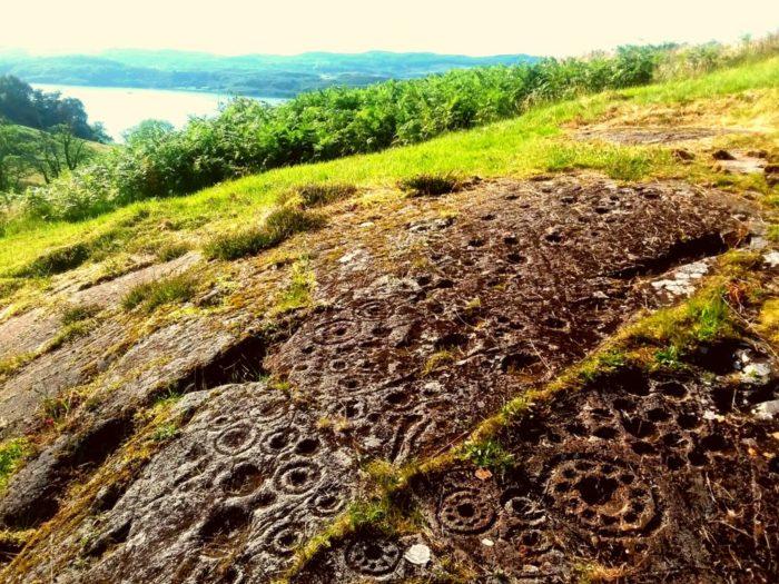 Rock art at Kilmartin
