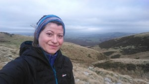 Winter hiking - Brecons
