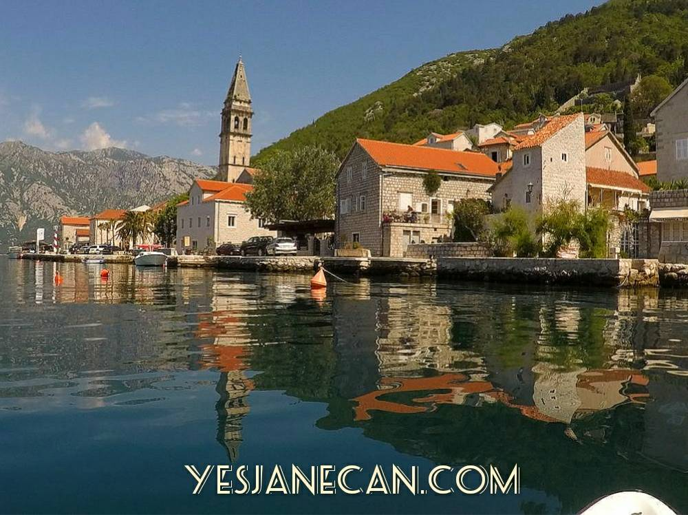 Kayaking to Perast, Kotor