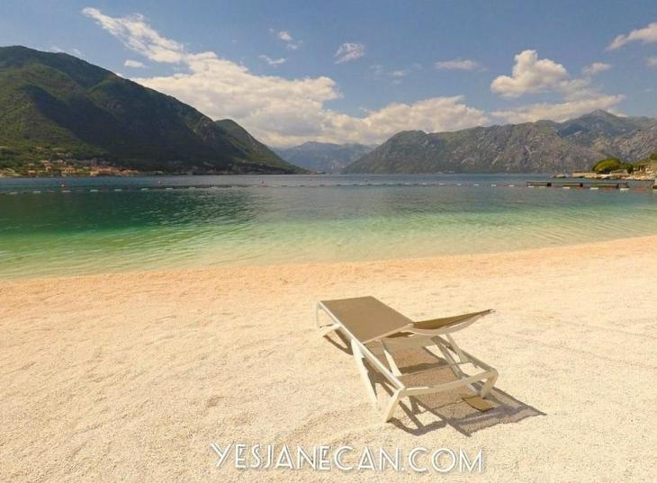 A beach on Kotor Bay - Things to do in Kotor Montenegro