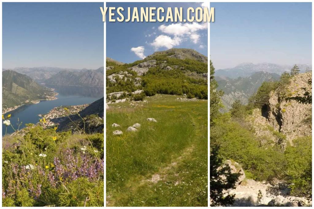 Hiking around Kotor, Montenegro