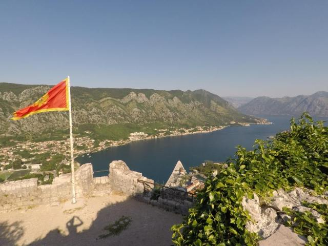 Things to do in Kotor Montenegro include hiking up to St John's fortress