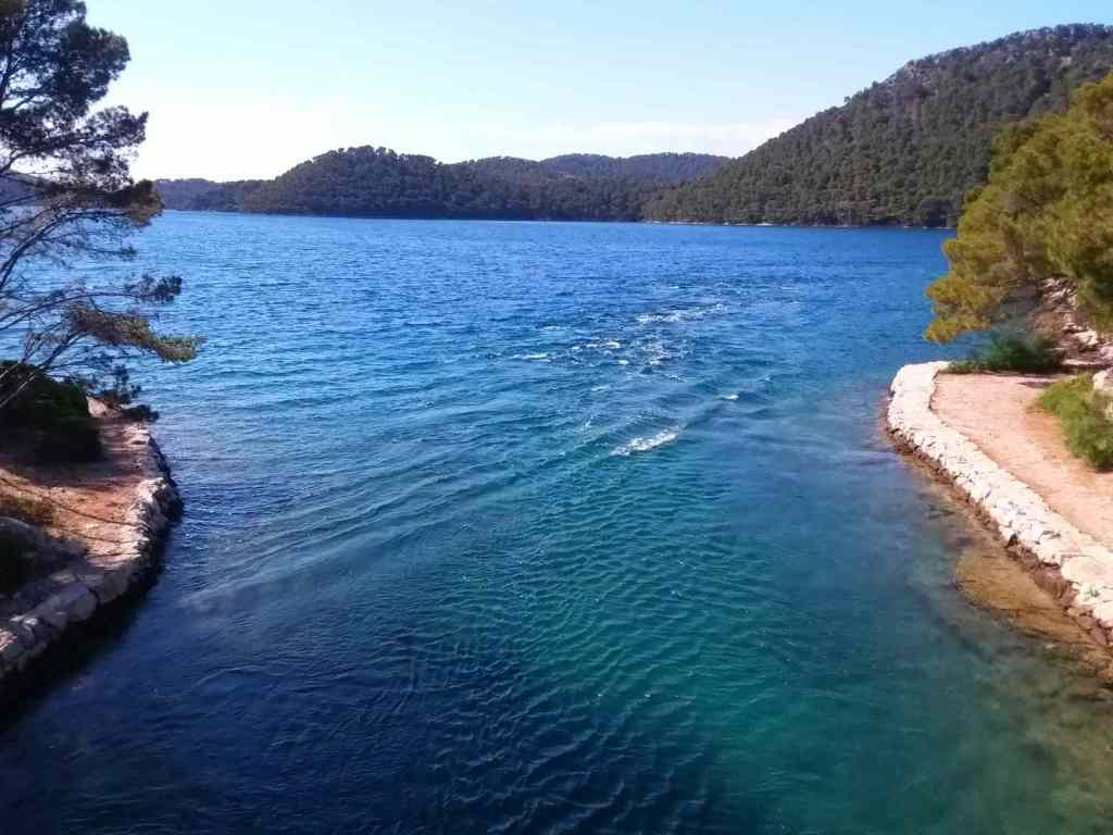 The Soline Channel, Mljet, Croatia