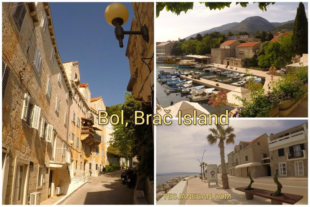 Bol on Brac The best islands in Croatia