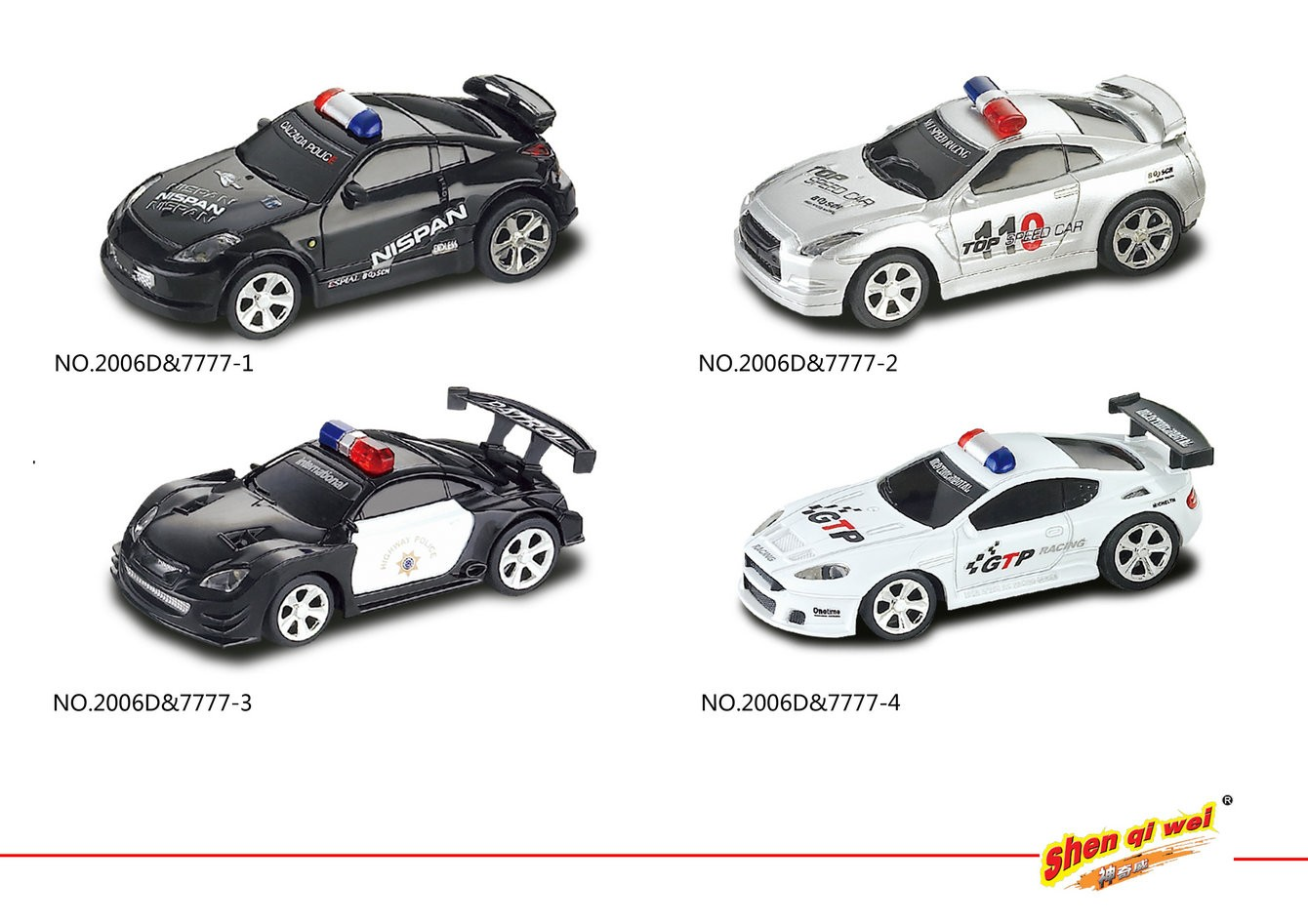 Scale 1 58 Mini Rc Police Car Manufacturers Scale 1