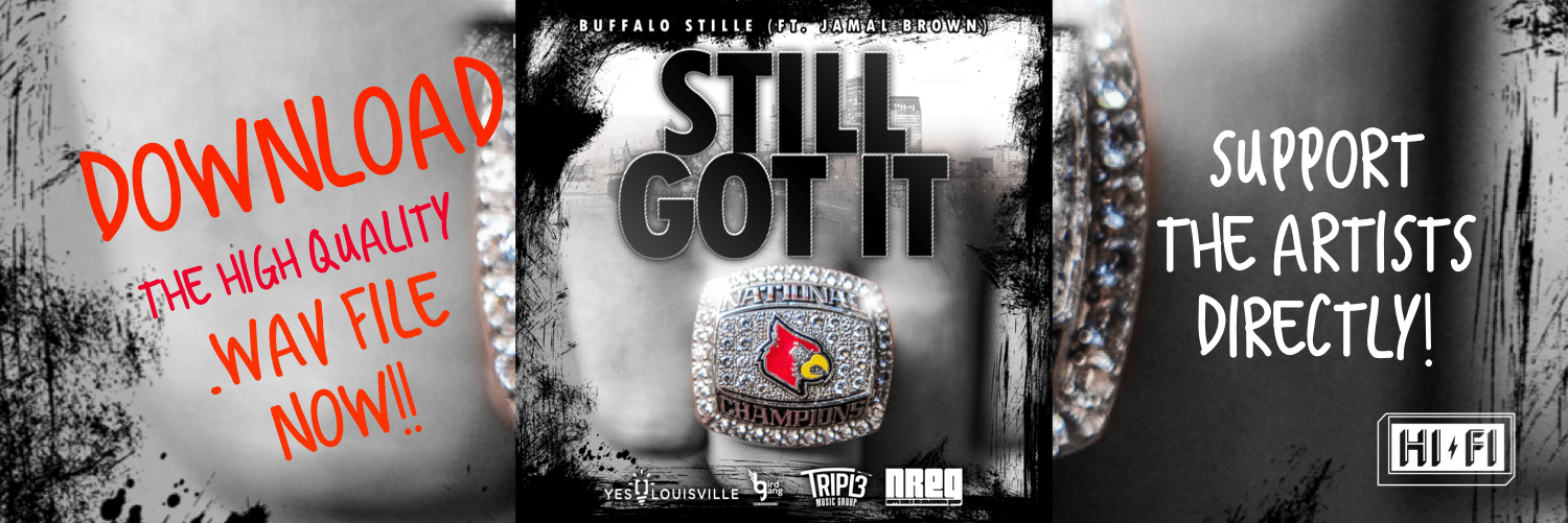 Download the hot single 'Still Got It' from Buffalo Stille HERE in HD! Save the High Quality version for prosperity and help support a great local artist!  Each purchase will get a shoutout online! 👊🏽We appreciate your support so much!