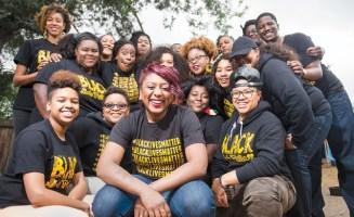 Alicia Garza and Bay Area Black Lives Matter photo by Kristin Little