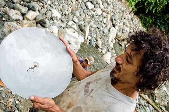 Costa Rican Gold Miner photo by Chuck Andolino