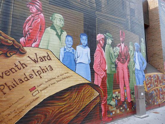Philadelphia Mural photo by Shrub 75
