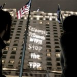 """TPP Protestors to Foreign Negotiators: """"Don't Let U.S. Bully You"""""""