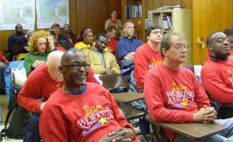 Working America organizer training