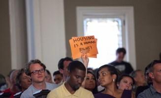 Seattle Rent Control Debate photo by Alex Garland