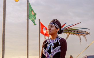 Mia Sage Stevens Standing Rock