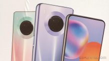Huawei Y9a leaked posters appear to reveal design, color variants