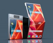 Oppo patents a unique smartphone with an outward folding display