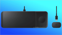 Render of Samsung Wireless Charger that can charge three devices at a go leaks