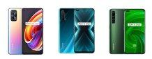 Realme X7 Pro vs Realme X3 SuperZoom vs Realme X50 Pro: Specs Comparison